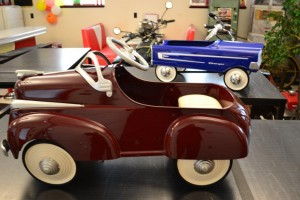 Two Pedal Cars